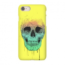 iPhone 8/7  Pop art skull by Balazs Solti (grunge,drawing)