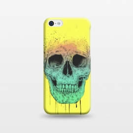 iPhone 5C  Pop art skull by Balazs Solti (grunge,drawing)
