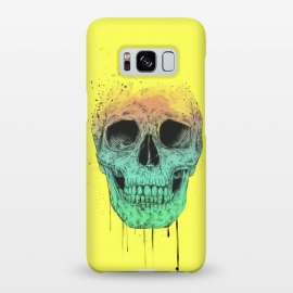 Galaxy S8+  Pop art skull by Balazs Solti