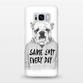 Galaxy S8+  Same shit... by Balazs Solti (bulldog,dog,drawing)