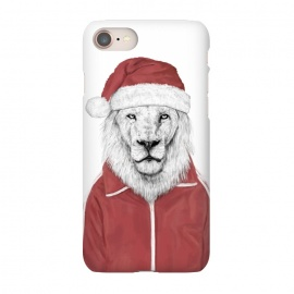 iPhone 8/7  Santa lion by Balazs Solti (santa claus,xmas,christmas,holidays)