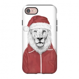 iPhone 8/7  Santa lion by Balazs Solti