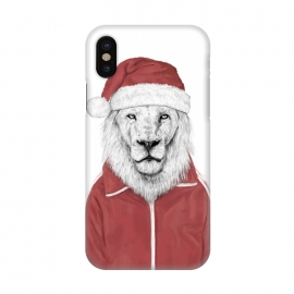 iPhone X  Santa lion by Balazs Solti
