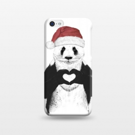 iPhone 5C  Santa panda by Balazs Solti