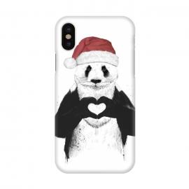 iPhone X  Santa panda by