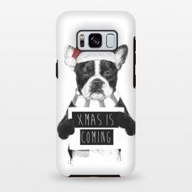 Galaxy S8 plus  Xmas is coming by  (dog,bulldog,xmas,christmas,holidays)
