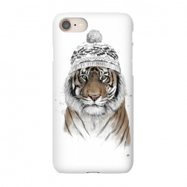 iPhone 8/7  Siberian tiger by Balazs Solti (tiger,winter,beanie)