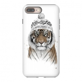 iPhone 8/7 plus  Siberian tiger by Balazs Solti (tiger,winter,beanie)