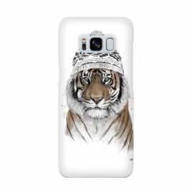 Siberian tiger by Balazs Solti (tiger,winter,beanie)