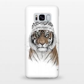 Galaxy S8+  Siberian tiger by Balazs Solti (tiger,winter,beanie)