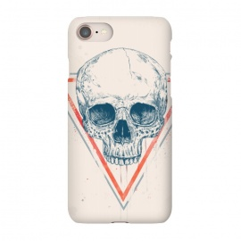 iPhone 8/7  Skull in triangle by Balazs Solti (skull,triangle,drawing)