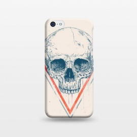 iPhone 5C  Skull in triangle by Balazs Solti