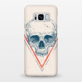 Galaxy S8+  Skull in triangle by Balazs Solti