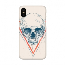 iPhone X  Skull in triangle by Balazs Solti