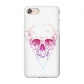 iPhone 8/7  Skull in triangle I by Balazs Solti (skull,triangle,drawing)