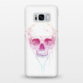 Galaxy S8+  Skull in triangle I by Balazs Solti (skull,triangle,drawing)