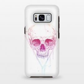 Galaxy S8+  Skull in triangle I by Balazs Solti