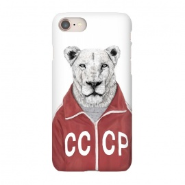 iPhone 8/7  Soviet lion by Balazs Solti (lion,soviet,ussr)