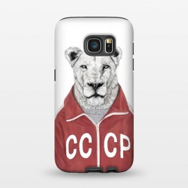 Galaxy S7  Soviet lion by Balazs Solti
