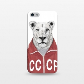 iPhone 5/5E/5s  Soviet lion by Balazs Solti