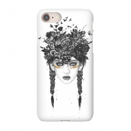 iPhone 8/7  Summer Queen by Balazs Solti (girl,summer,spring,drawing)
