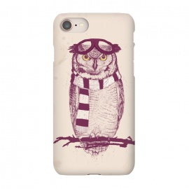 iPhone 8/7  The aviator by Balazs Solti (owl,bird,drawing,pilot)