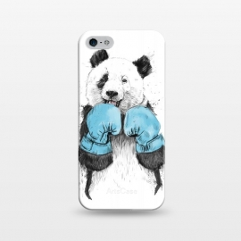 iPhone 5/5E/5s  The winner by Balazs Solti (panda,drawing,grunge,boxing)