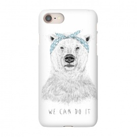iPhone 8/7  We can do it by Balazs Solti (bear,drawing)