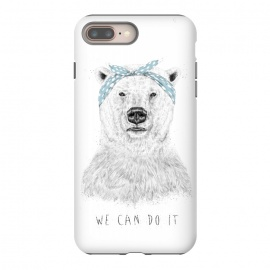 iPhone 8/7 plus  We can do it by Balazs Solti (bear,drawing)