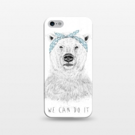 iPhone 5/5E/5s  We can do it by Balazs Solti (bear,drawing)