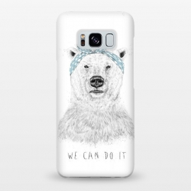 Galaxy S8+  We can do it by Balazs Solti (bear,drawing)