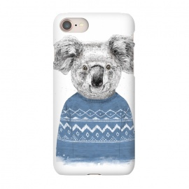iPhone 8/7  Winter koala by Balazs Solti (koala,drawing,winter)