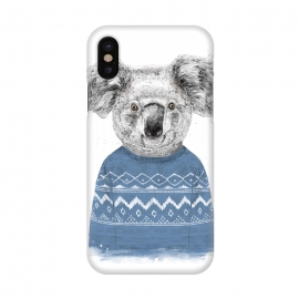 iPhone X  Winter koala by Balazs Solti