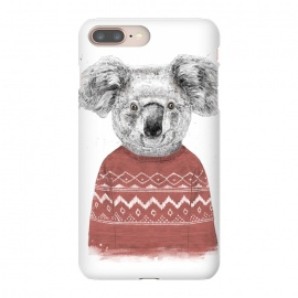 iPhone 8/7 plus  Winter koala (red) by Balazs Solti