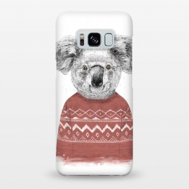 Galaxy S8+  Winter koala (red) by Balazs Solti