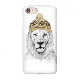 iPhone 8/7  Winter is here by Balazs Solti (lion,drawing,winter)