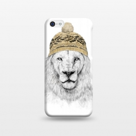 iPhone 5C  Winter is here by Balazs Solti (lion,drawing,winter)