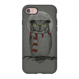 iPhone 8/7  Winter owl by Balazs Solti