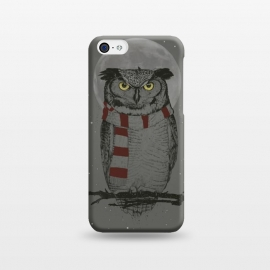 iPhone 5C  Winter owl by Balazs Solti
