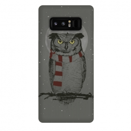 Galaxy Note 8  Winter owl by Balazs Solti