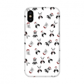 iPhone X  Xmas pattern by Balazs Solti