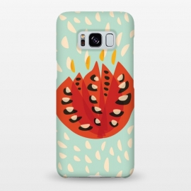 Galaxy S8+  Decorative Beautiful Abstract Tulip by Boriana Giormova