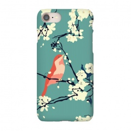 iPhone 8/7  Bird and Blossom by Zoe Charlotte