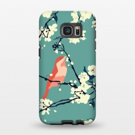Galaxy S7 EDGE  Bird and Blossom by Zoe Charlotte