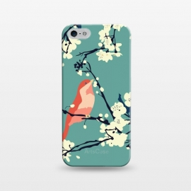 iPhone 5/5E/5s  Bird and Blossom by Zoe Charlotte