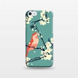 iPhone 5C  Bird and Blossom by Zoe Charlotte