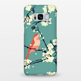 Galaxy S8+  Bird and Blossom by Zoe Charlotte