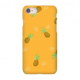 iPhone 8/7  Pineapples in Mango by Zoe Charlotte