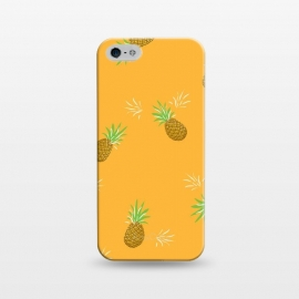 iPhone 5/5E/5s  Pineapples in Mango by Zoe Charlotte
