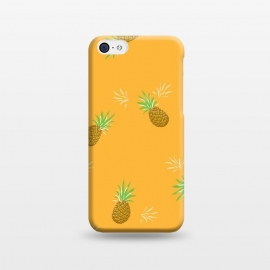 iPhone 5C  Pineapples in Mango by Zoe Charlotte